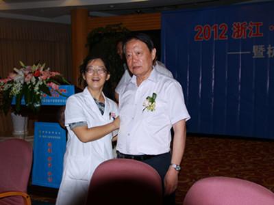 杭州红房子专家费旭红与卫生部长合影